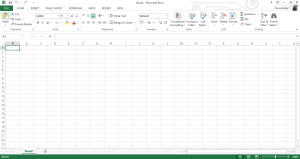 Microsoft Excel table, how to import csv.